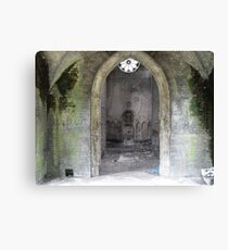 The Disused Canvas Print