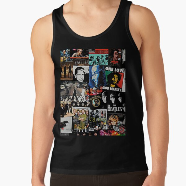 Rock Collage Tank Top