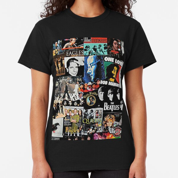 Rock Collage Classic T-Shirt