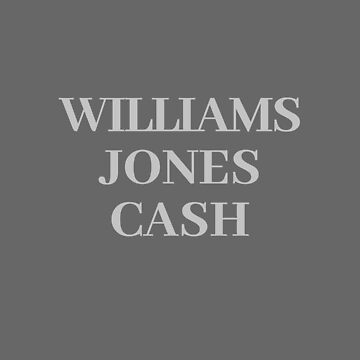 Williams and Jones and Cash  by SterlingTales