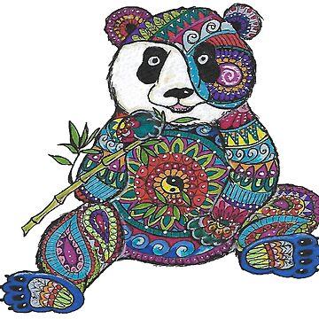 Mandala Panda by Hummingbirdnz
