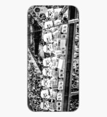 """iPhone Case with Toy Photography - """"Lunch on Skyscraper"""" iPhone Case"""