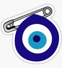 Evil Eye Pinned Sticker