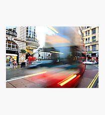 runaway bus Photographic Print