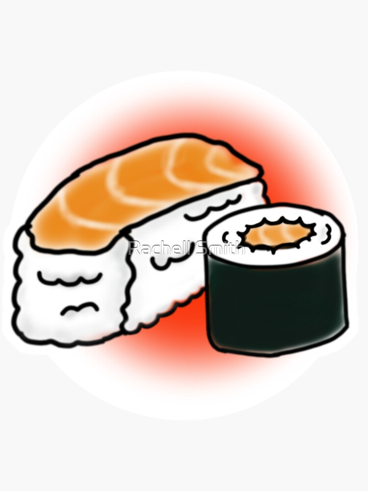 Salmon Sushi by Raccoon-god