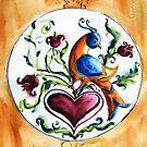 Distlefink by Robin Spring Bloom