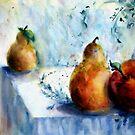 Fruit Still Life by Robin Spring Bloom