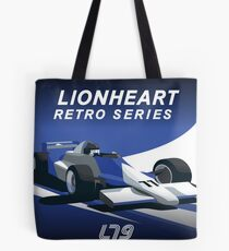 Lionheart Retro Pillows and Stickers Tote Bag