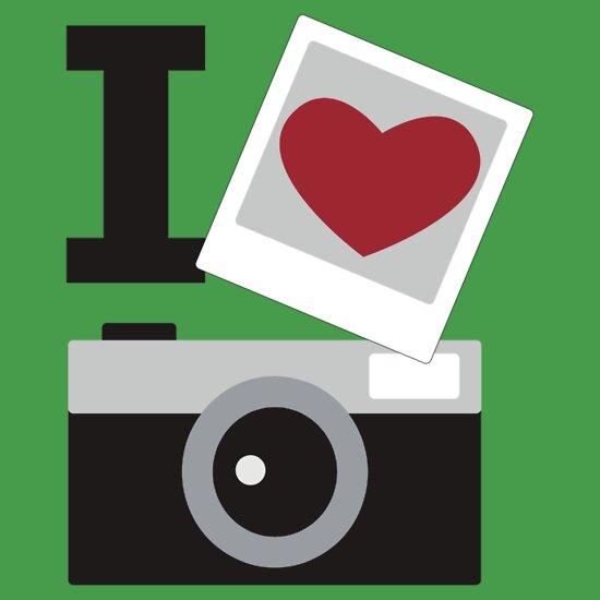 TShirtGifter presents: I love camera