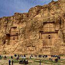 Naqsh-E Rostam - Necropolis - Iran by Bryan Freeman