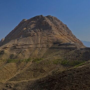Sofeh Mountains - Esfahan - Iran - Panorama by BryanFreeman