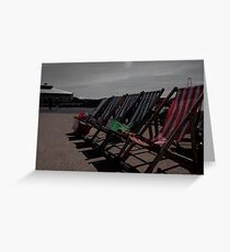 Deck the Chairs... Greeting Card