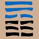 20 Contemplating I Ching Hexagram by SpiritStudio