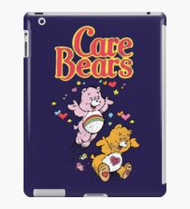 Tenderheart and Cheer Bear Distressed Vintage Retro 80s 1980s iPad Case/Skin
