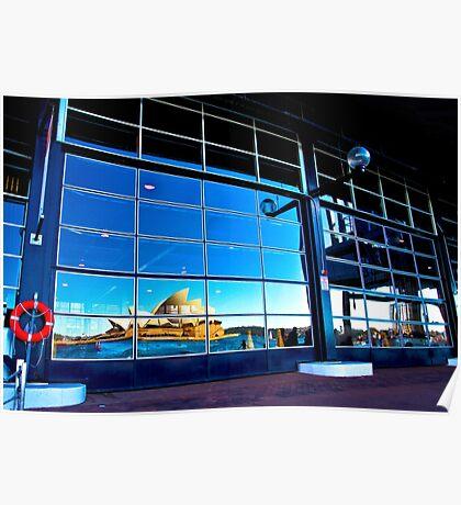 A Reflection on Sydney Opera House #2 - Australia Poster