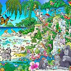 Mermaid Island by Chuck Whelon
