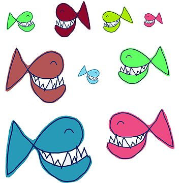 Smiling fish by NYWA-ART
