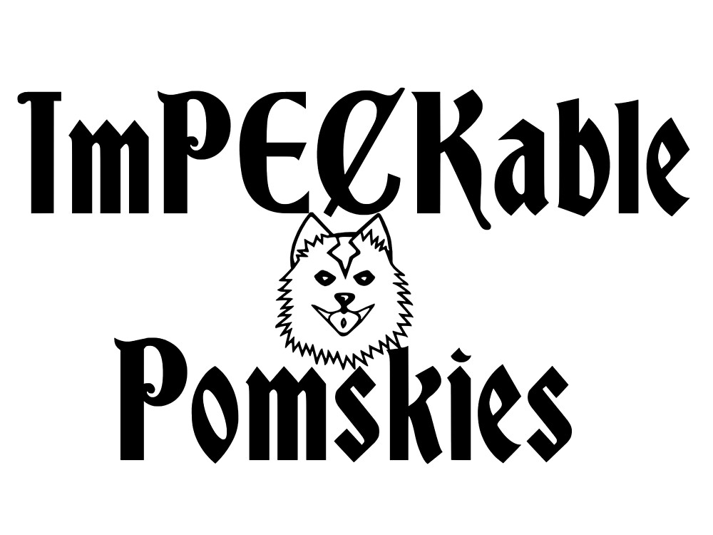 Impeckable Pomskies by Adrian Todd Peck