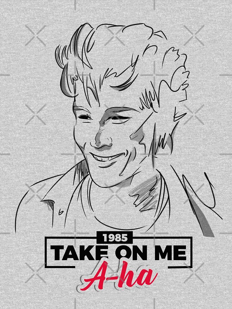 Morten Harket in Take On Me - a-ha by MarylinRam18