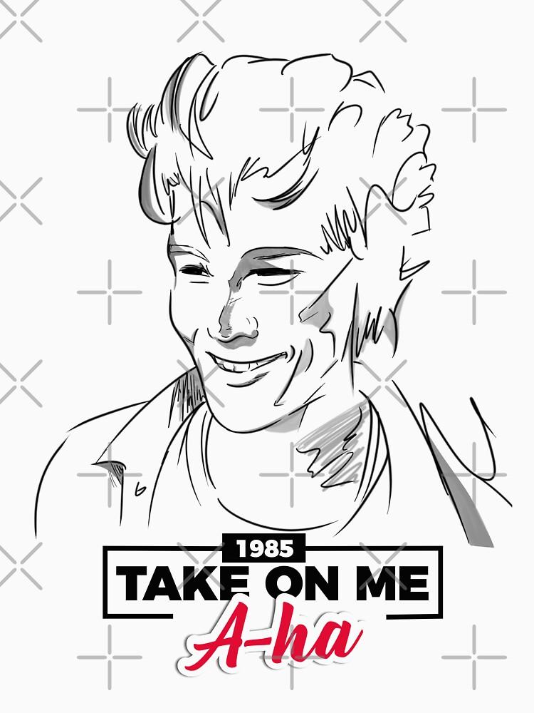 Morten Harket in Take On Me - a-ha de MarylinRam18