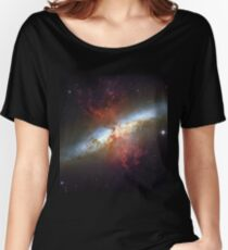 Starburst Galaxy Messier 82 Women's Relaxed Fit T-Shirt