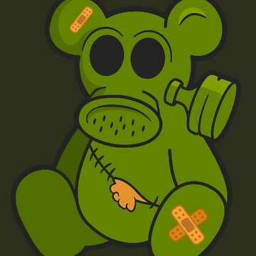 Toxic Teddy - A Post-Apocalyptic Toy by psychodork
