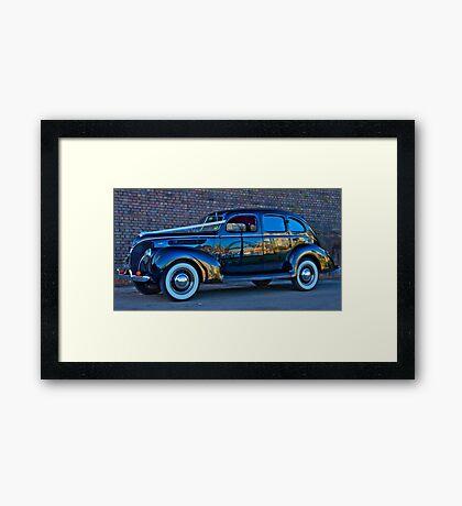 The Wedding Car - Sydney - Australia Framed Print
