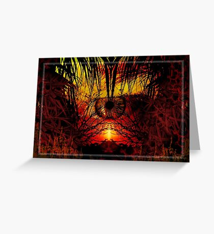 Finding the nature in you.. Greeting Card