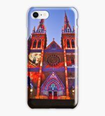 St Marys Cathedral (Governor Macquarie) - Vivid Festival - Sydney - Australia iPhone Case/Skin