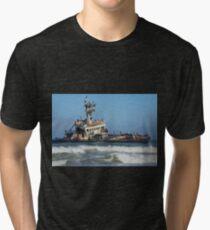 Ship abandoned. Tri-blend T-Shirt