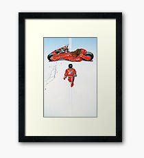 Akira / Motorrad Gerahmtes Wandbild