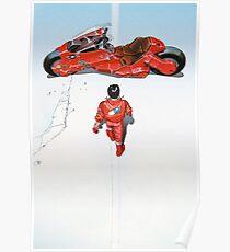 Póster Akira / Motocicleta