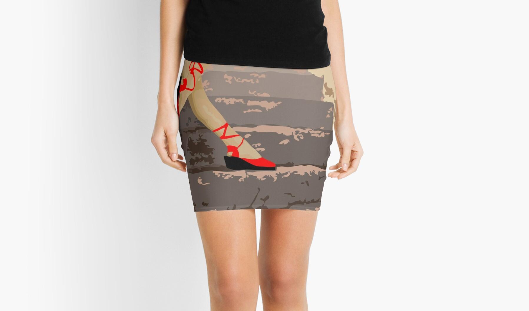 woman legs by jaymorino