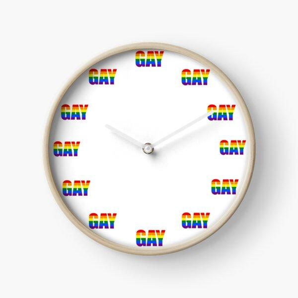 Gay o'clock Clock