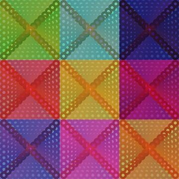 Psychedelic Squares by EvilGravy