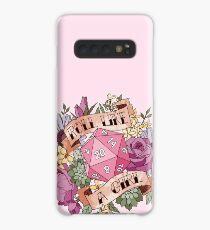 Roll Like a Girl Case/Skin for Samsung Galaxy
