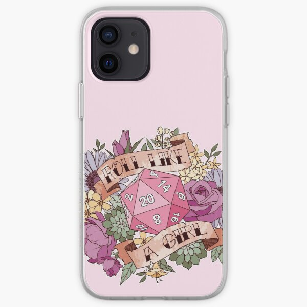 Roll Like a Girl iPhone Soft Case