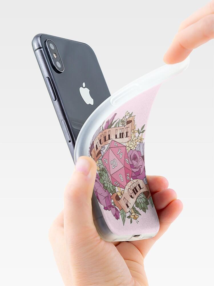 Vista alternativa de Vinilos y fundas para iPhone Rollo como una niña