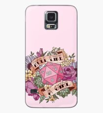 Roll Like a Girl Case/Skin for Samsung Galaxy