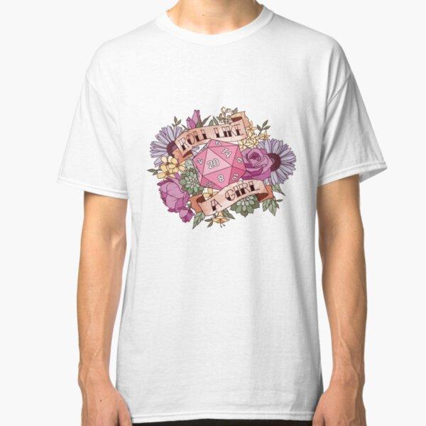 Roll Like a Girl Classic T-Shirt