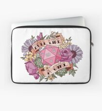 Roll Like a Girl Laptop Sleeve