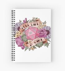 Roll Like a Girl Spiral Notebook