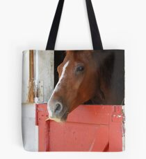 Stable time Tote Bag