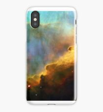 Space storm Messier 17 iPhone Case