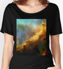 Space storm Messier 17 Women's Relaxed Fit T-Shirt