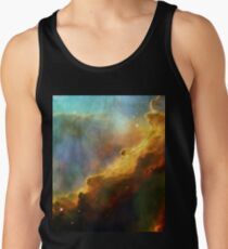 Space storm Messier 17 Tank Top