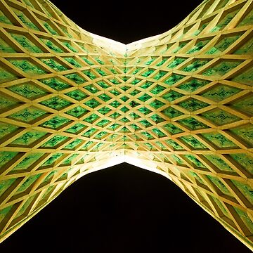 Azadi Tower (Underneath) -Tehran - Iran by BryanFreeman
