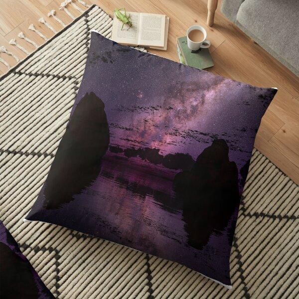 The Distant Lights Floor Pillow