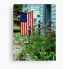 Patriotic Garden Canvas Print