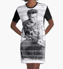 My Way Graphic T-Shirt Dress